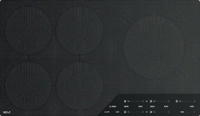 Product ICBCI365C-B contemporary induction cooktop