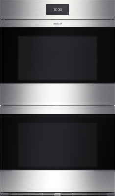 Product ICBDO30CM-S contemporary stainless steel double oven
