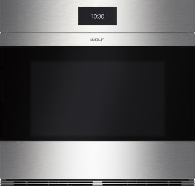 Product ICBSO30CM-S contemporary stainless steel single oven
