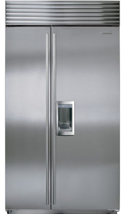 ICBBI-42SD Side by Side Refrigerator-Freezer
